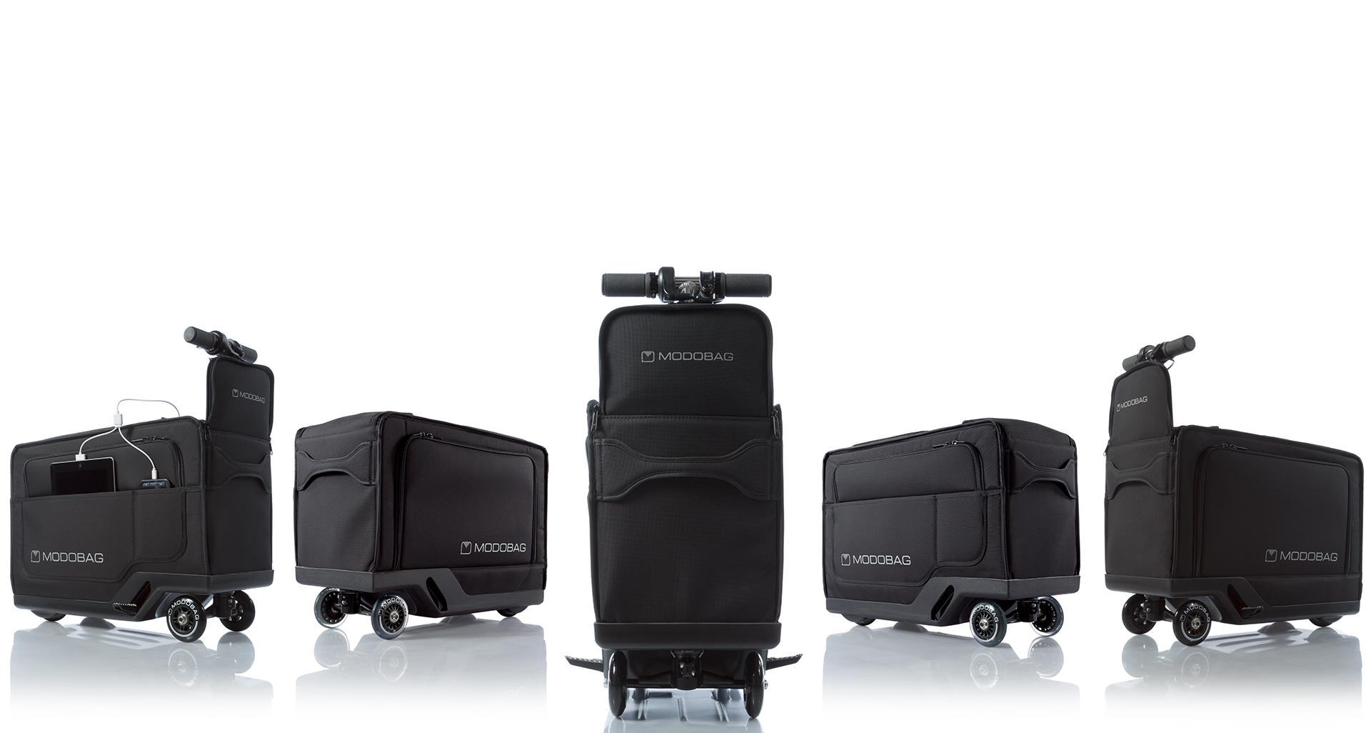 Компания Modobag разрабатывает чемодан-скутер