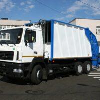 Мусоровоз – главный ответственный за чистоту в городе